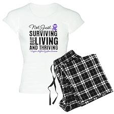 Thriving Hodgkins Lymphoma pajamas