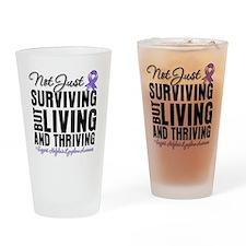 Thriving Hodgkins Lymphoma Drinking Glass