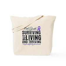 Thriving Hodgkins Lymphoma Tote Bag