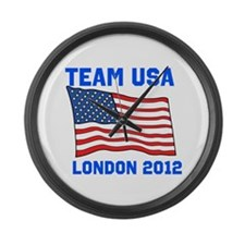 Team USA Large Wall Clock