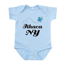 Ithaca New York Infant Bodysuit