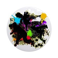 HIP HOP DANCE Ornament (Round)