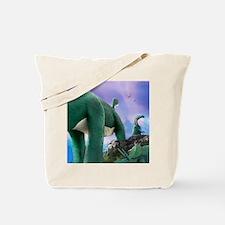 Rushmore Dinos Tote Bag