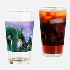 Rushmore Dinos Drinking Glass