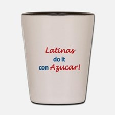 Latinas Azucar Shot Glass