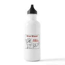 Give Blood Veterinarian Water Bottle