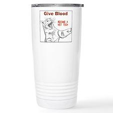 Give Blood tech Thermos Mug