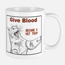 Give Blood tech Mug