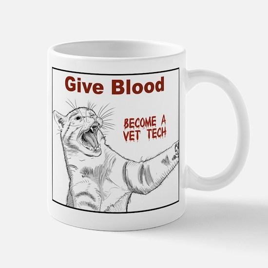 Give Blood tech Mug