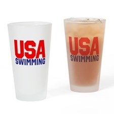 Team USA Drinking Glass