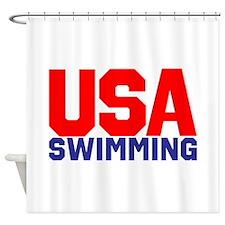 Team USA Shower Curtain