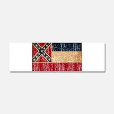Mississippi Flag Car Magnet 10 x 3