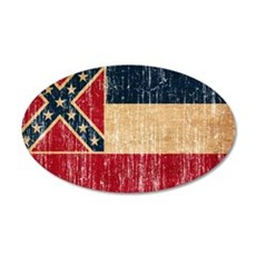 Mississippi Flag Wall Decal