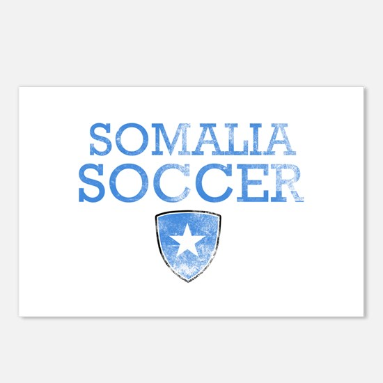 Somalia Soccer Postcards (Package of 8)