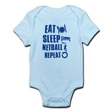 Eat Sleep Netball Onesie