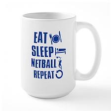 Eat Sleep Netball Mug