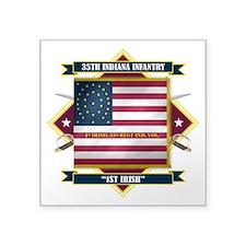 35th Indiana -1st Irish (Diamond).png Square Stick