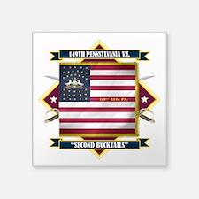 "149th P.V.I. (Diamond).png Square Sticker 3"" x 3"""