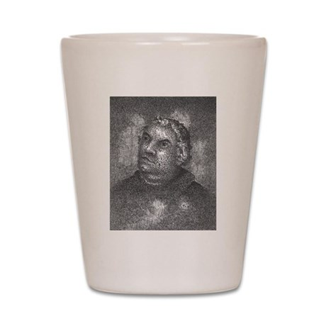 Martin Luther Shot Glass