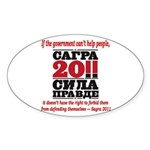 Sagra Sticker (Oval)