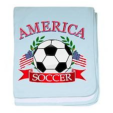 America football designs baby blanket