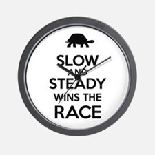 """""""Slow and Steady Wins the Race"""" Wall Clo"""