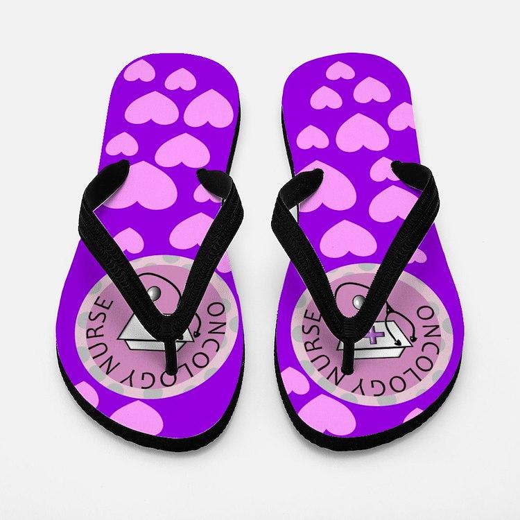 Oncology Nurse Flip Flops