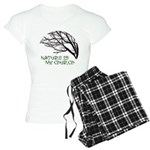 10x10_apparelNatureChurch.png Women's Light Pajama