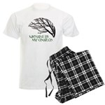 10x10_apparelNatureChurch.png Men's Light Pajamas