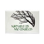 10x10_apparelNatureChurch.png Rectangle Magnet