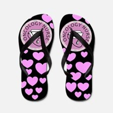 Oncology nurse 2.PNG Flip Flops