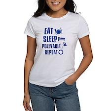Eat Sleep Pole Vault Tee