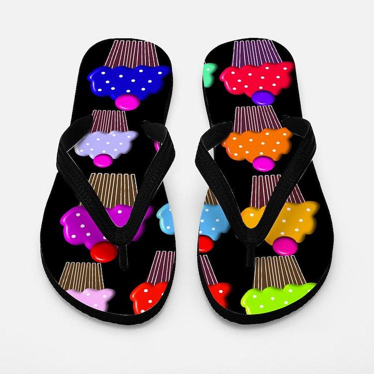 Cupcakes 1.PNG Flip Flops
