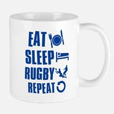 Eat Sleep Rugby Mug