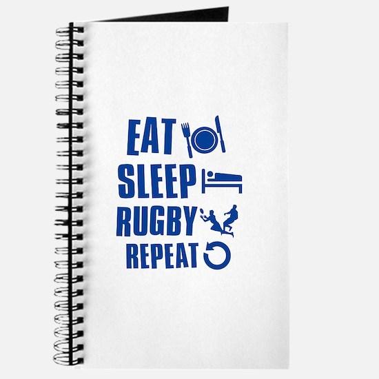 Eat Sleep Rugby Journal