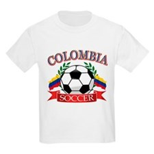 Colombia Soccer designs T-Shirt