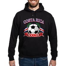 Costa Rica Soccer designs Hoody