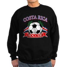 Costa Rica Soccer designs Sweatshirt