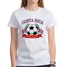 Costa Rica Soccer designs Tee