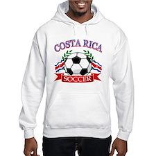 Costa Rica Soccer designs Hoodie