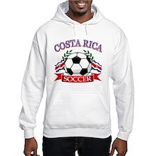 Costa Rica Soccer designs Jumper Hoody