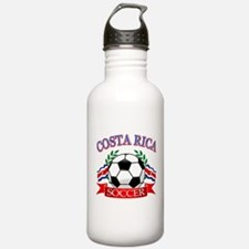 Costa Rica Soccer designs Water Bottle