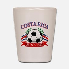Costa Rica Soccer designs Shot Glass