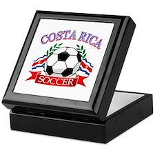 Costa Rica Soccer designs Keepsake Box