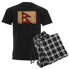 Nepal Flag Pajamas
