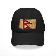 Nepal Flag Baseball Hat