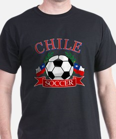Chile Soccer designs T-Shirt
