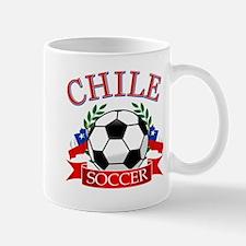 Chile Soccer designs Mug