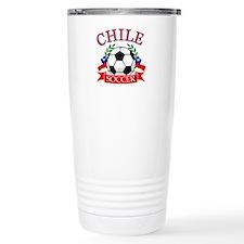 Chile Soccer designs Travel Mug