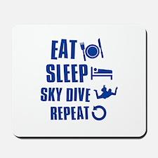 Eat Sleep Sky Dive Mousepad